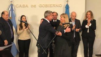 Vanesa Abril asumió en la subsecretaría de Información Pública