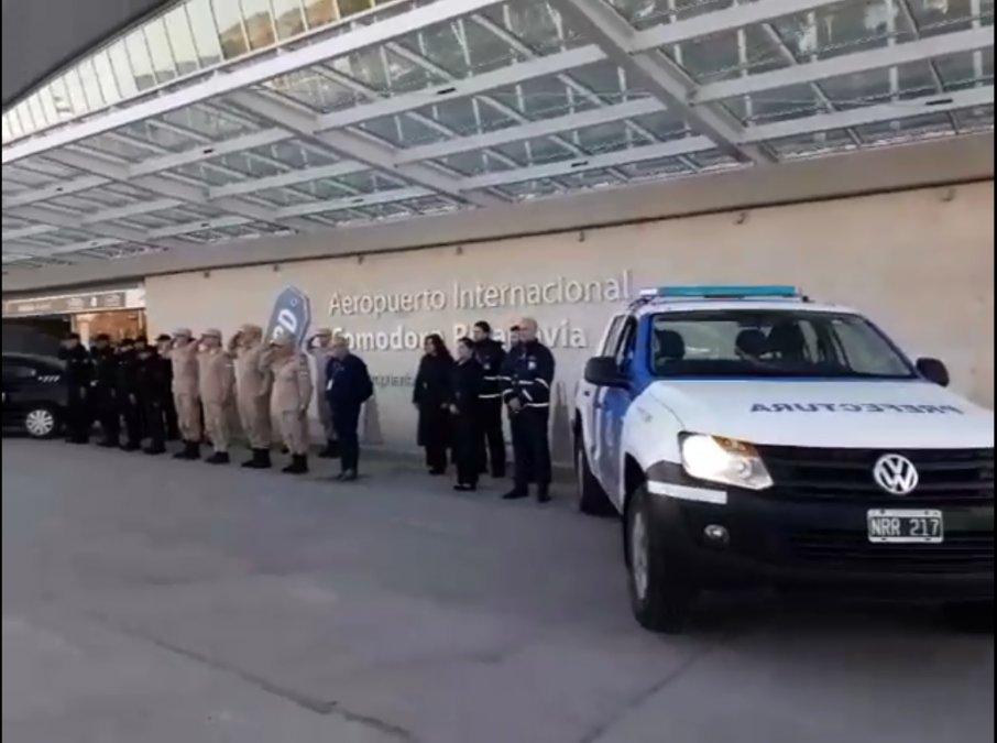 Minuto de silencio en el Aeropuerto por el aniversario del atentado a la AMIA