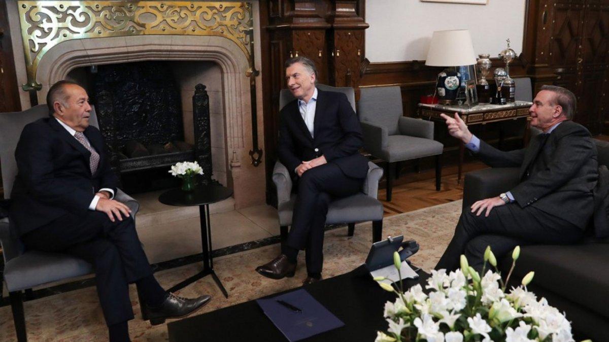 Adolfo se reunió con Macri y confirmó su pase al oficialismo