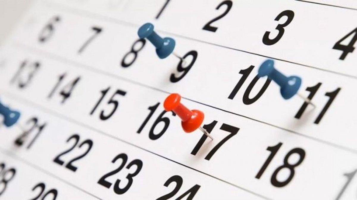 Los feriados que le quedan al 2019