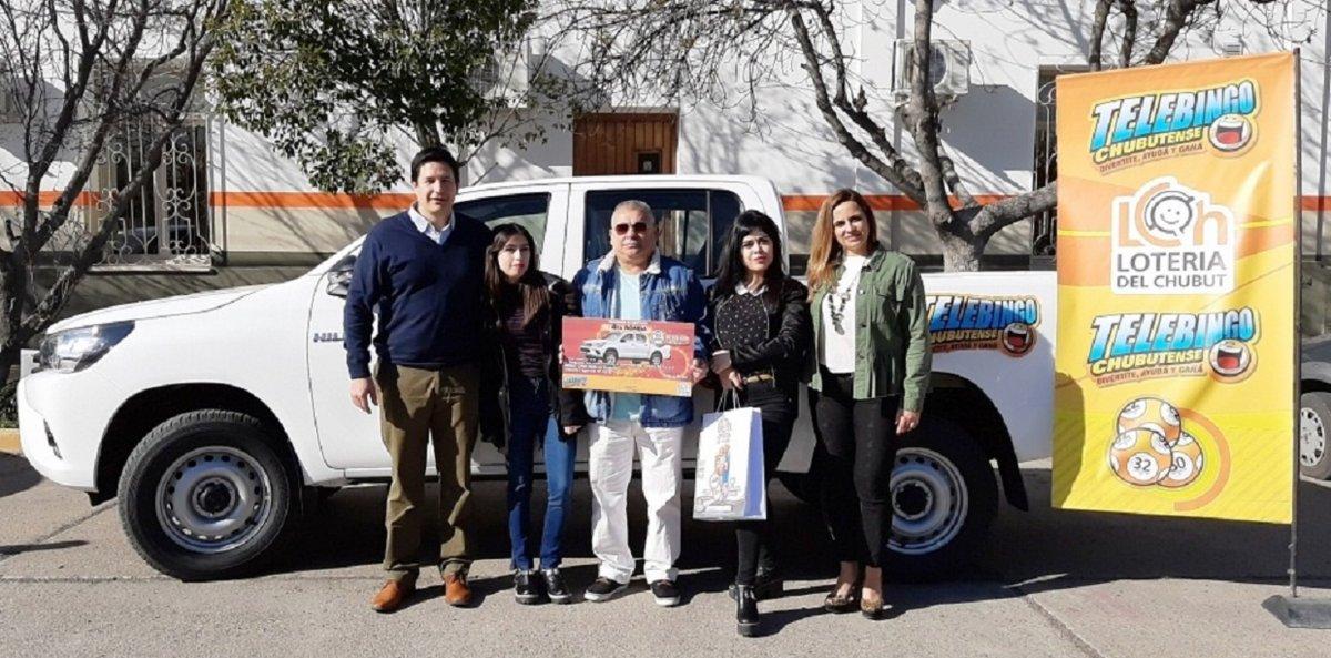 El Telebingo Chubutense entregó una camioneta