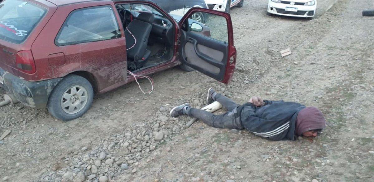 Capturaron a tres sujetos por robo domiciliario en km 17