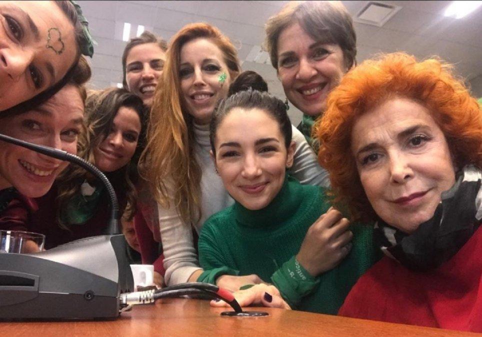 El colectivo de Actrices Argentinas se solidarizó con Chubut