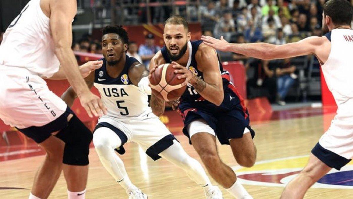 Francia le ganó a USA y será rival de Argentina en semifinales