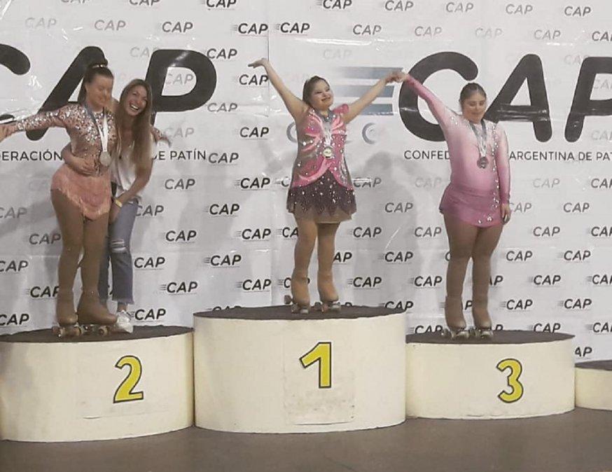 Camila Gallardo se consagró campeona nacional en Puerto Madryn
