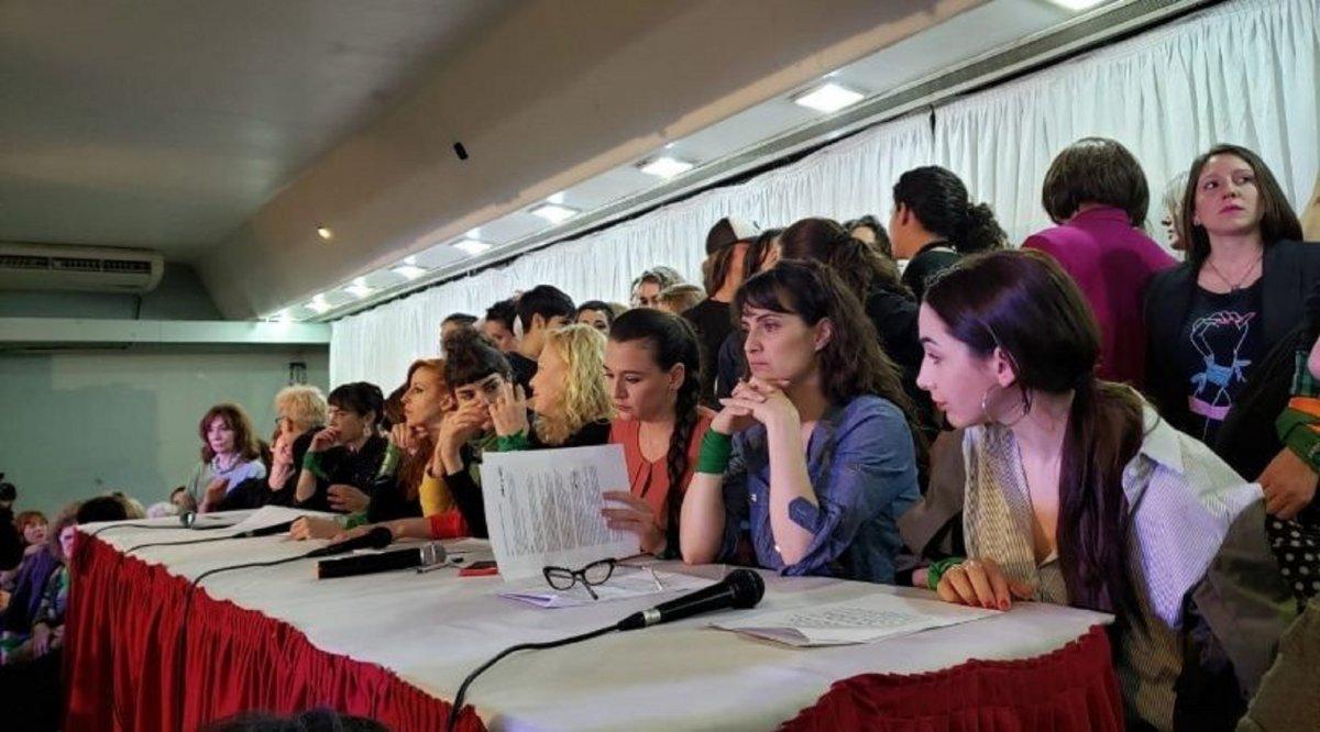 El colectivo de Actrices Argentinas presentó una nueva denuncia