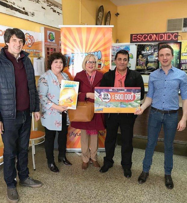 En Comodoro Rivadavia el Telebingo entregó 500 mil pesos