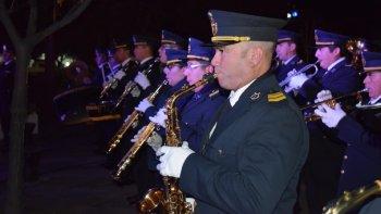 La Banda de Música de la Policía del Chubut cumplió 63 años