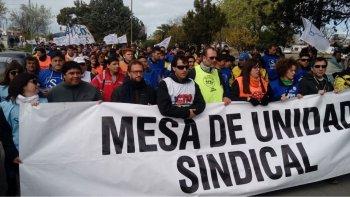 La Mesa de Unidad Sindical busca reunirse con diputados provinciales