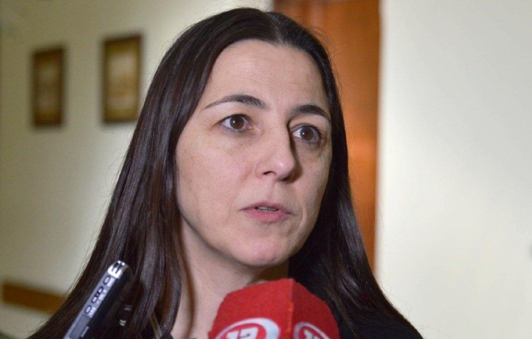 Vega criticó a los violentos y comentó el estado de los edificios públicos