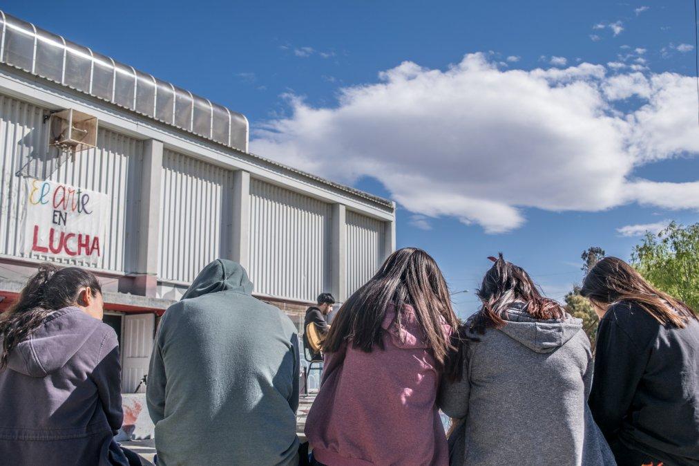 Teatro del oprimide: Una clase pública en la Escuela de Arte