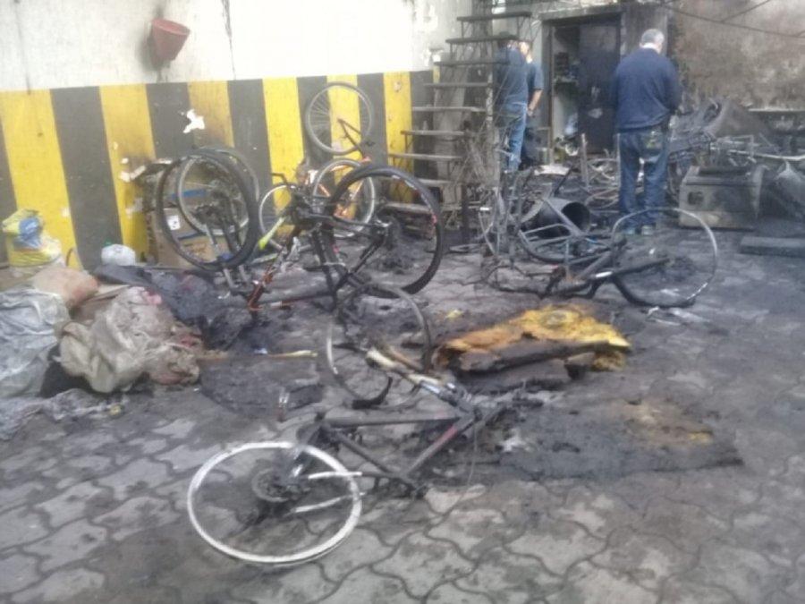 Se incendió el hotel en que se alojaba la delegación de Chubut