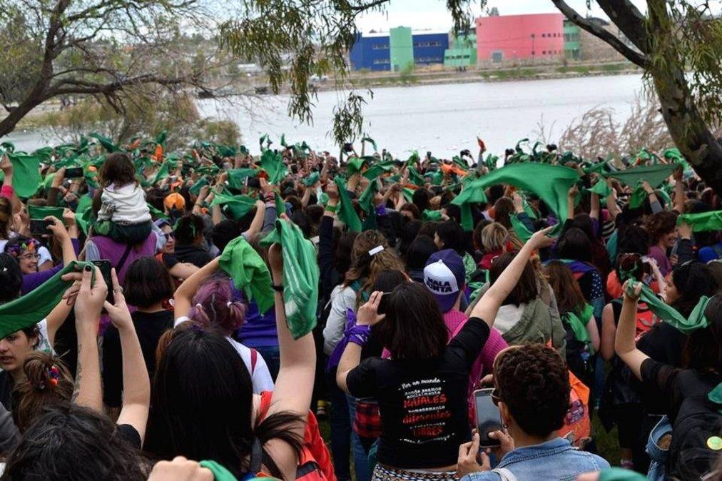 Encuentro Nacional de Mujeres 33°. Trelew | Fotografía: Alejandra Martínez