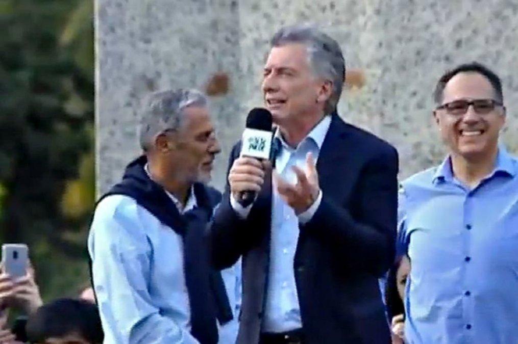 Macri: No tengan miedo, porque estoy para defenderlos