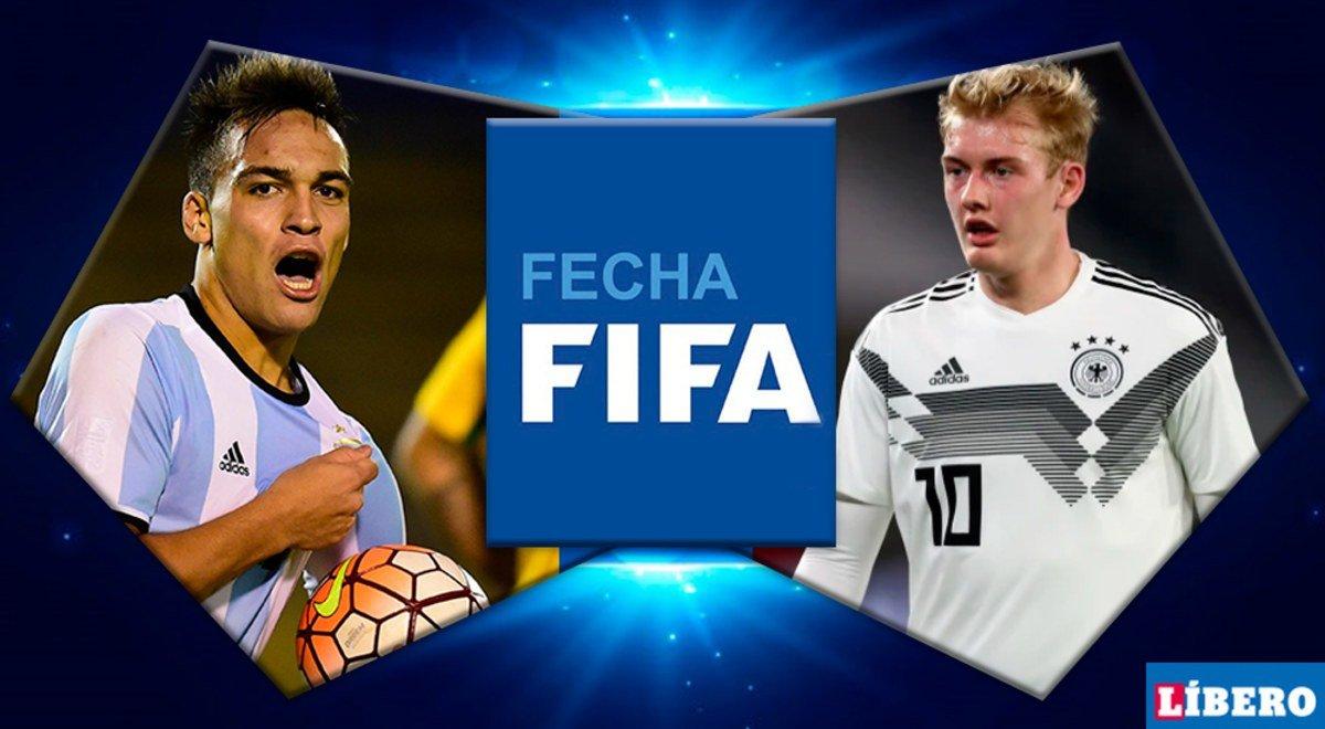 ¿Quiénes son y como llegan los titulares contra Alemania?