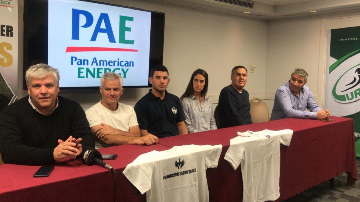 PAE y la Fundación Espartanos muestran su trabajo en el rugby local