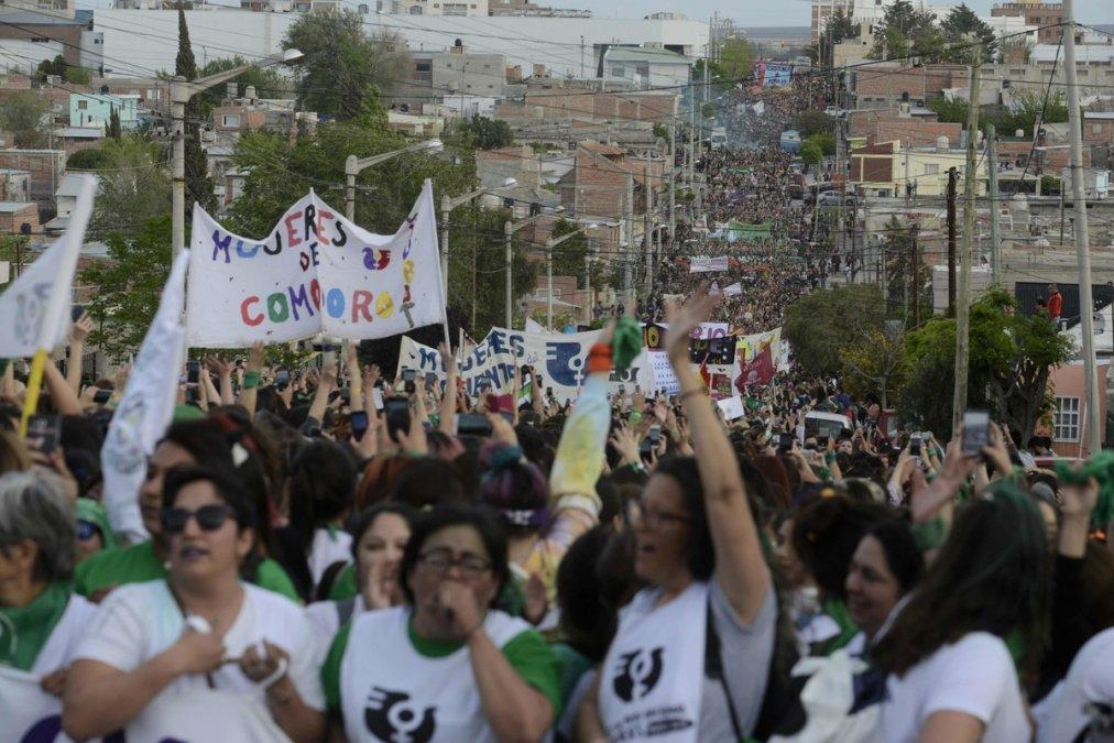 Comienza el 34° Encuentro Nacional de Mujeres