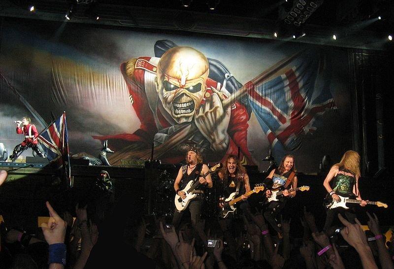 Homenajearon a Iron Maiden en el Congreso de la Nación