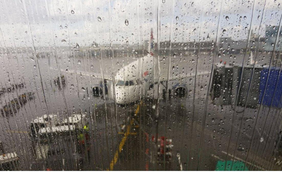 Vuelos cancelados en Ezeiza y Aeroparque