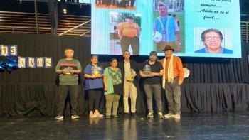 Othar encabezó el acto por el 15° Aniversario de los Juegos Comunitarios