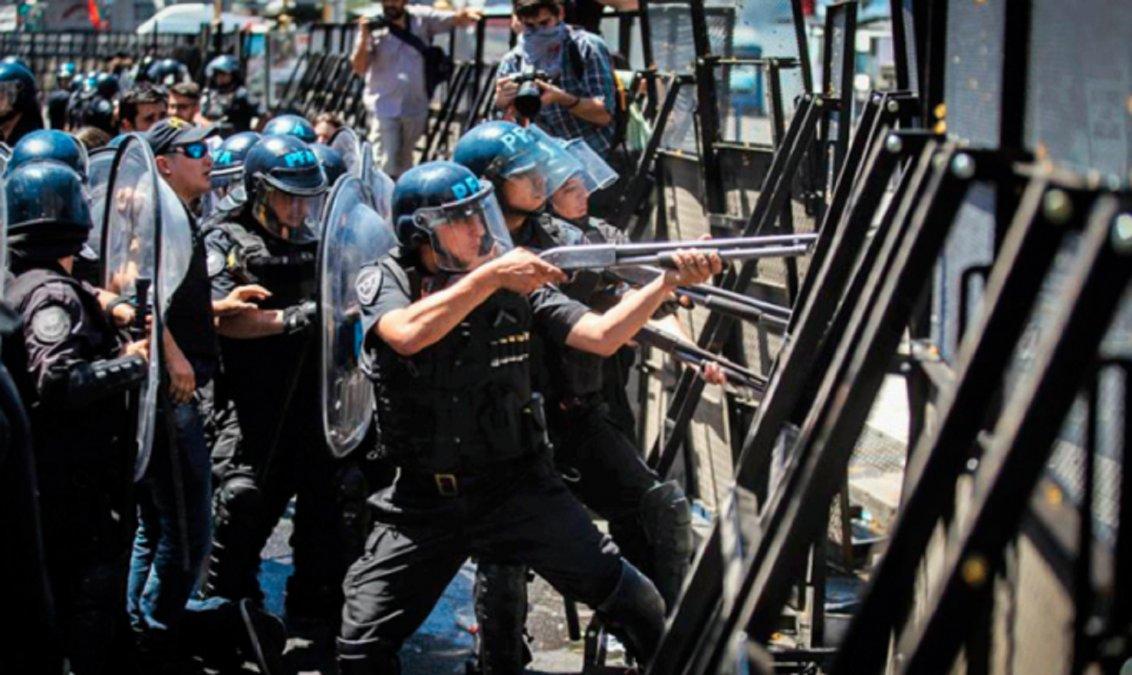 Más de mil personas fueron detenidas por protestar durante el gobierno de Macri