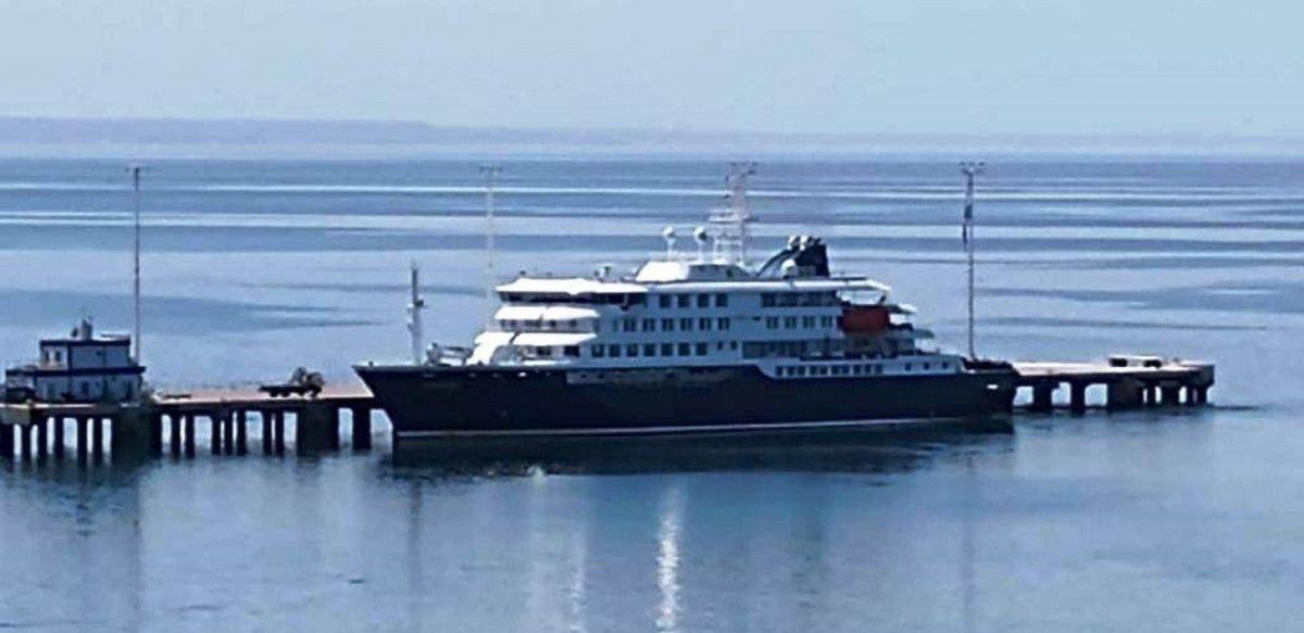 Avanza la temporada de cruceros en Puerto Madryn