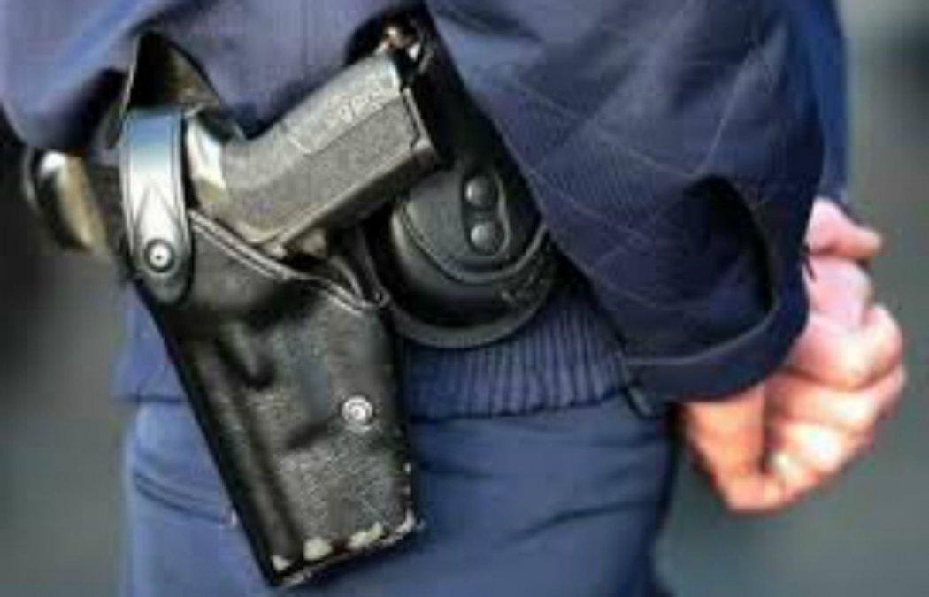 Policía detenido tras un intento de usurpación