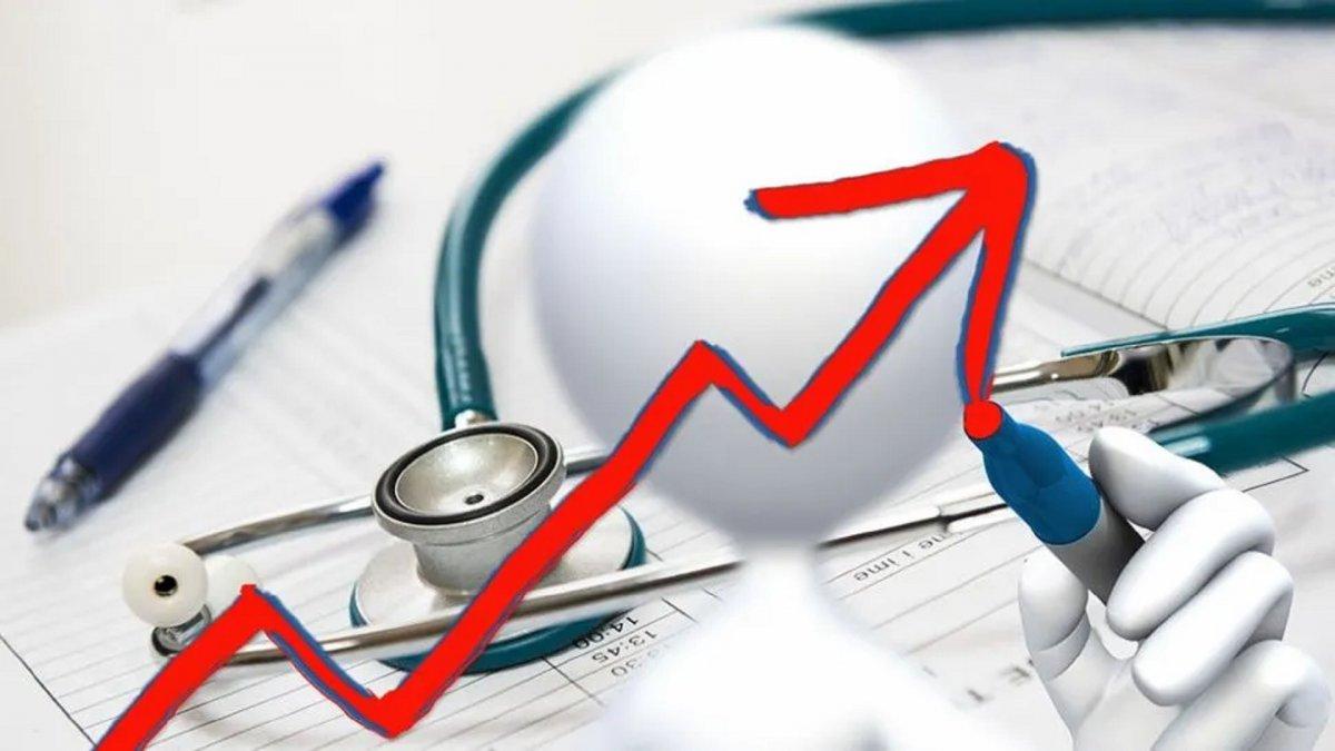 Prepagas acumulan un aumento del 62% en lo que va del año