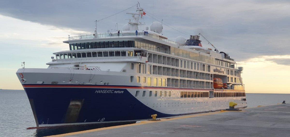 Puerto Madryn: Crece el turismo en el Muelle Almirante Luis Piedra Buena