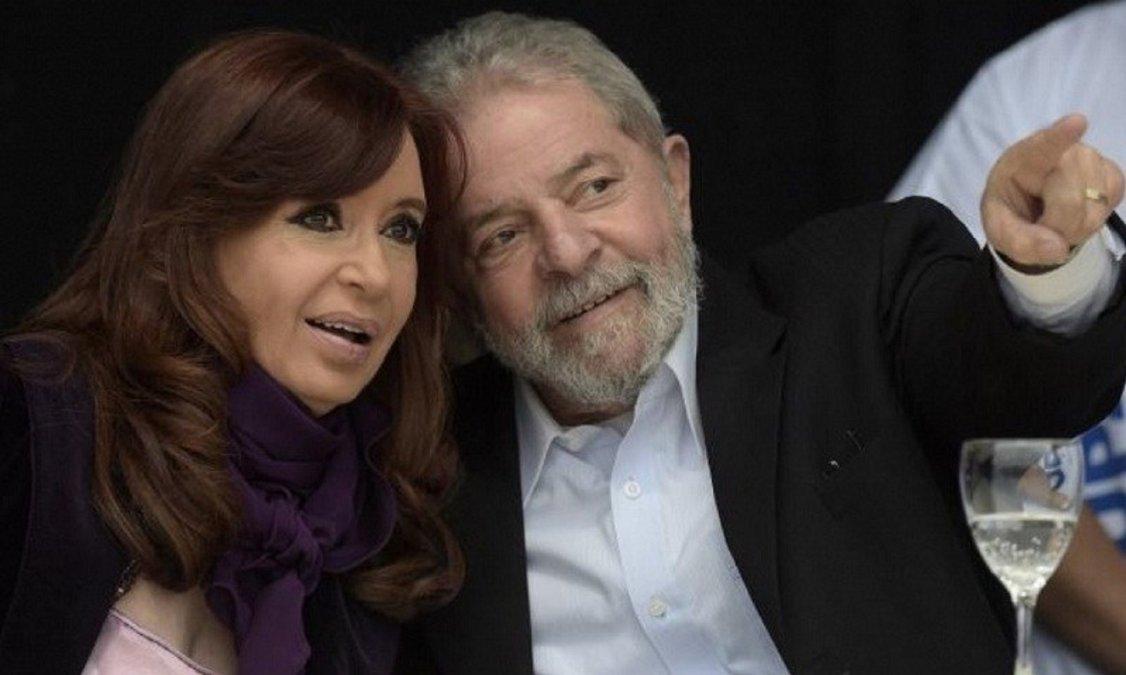 Cristina y Alberto celebraron la liberación de Lula
