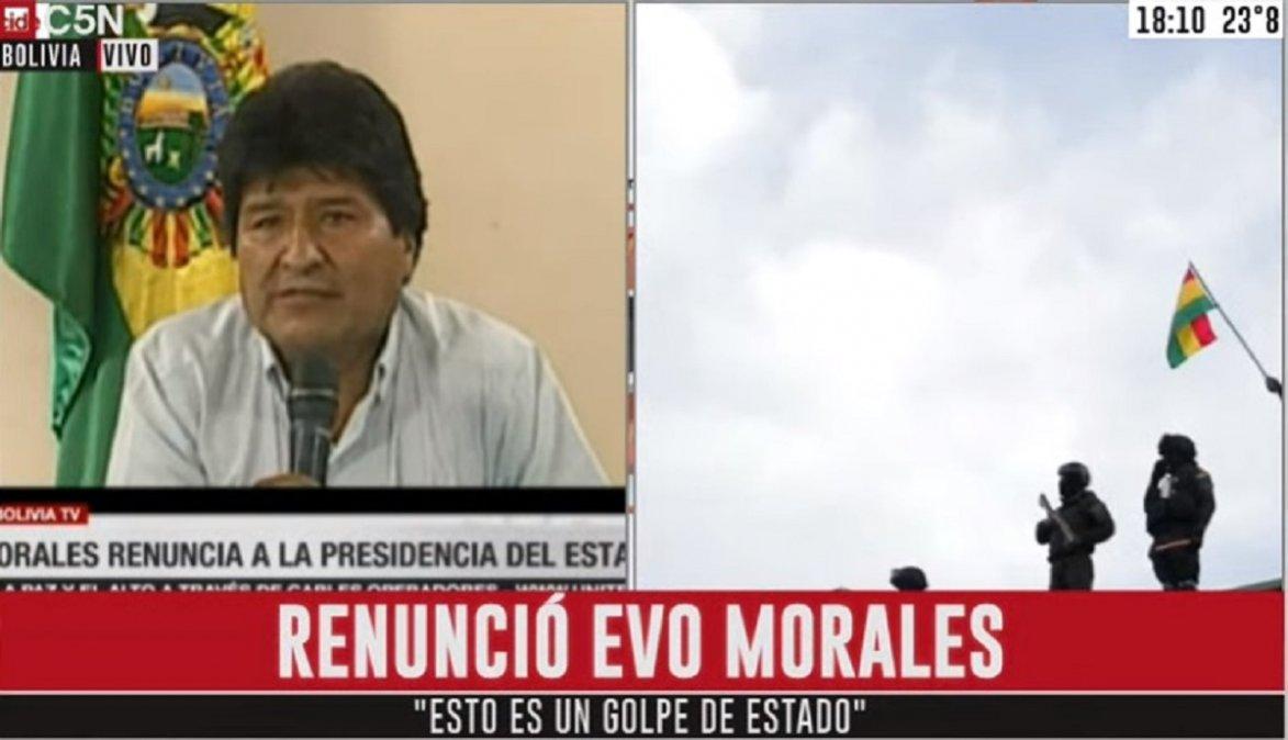 Evo Morales: Dejamos una nueva Bolivia en proceso de desarrollo