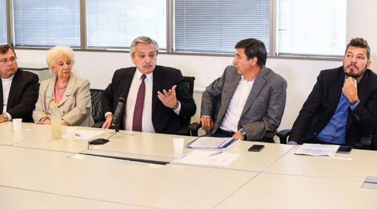 Alberto Fernández y Tinelli le dan forma al plan contra el hambre