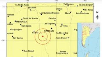 Sismo de 6.3 con epicentro en Mendoza