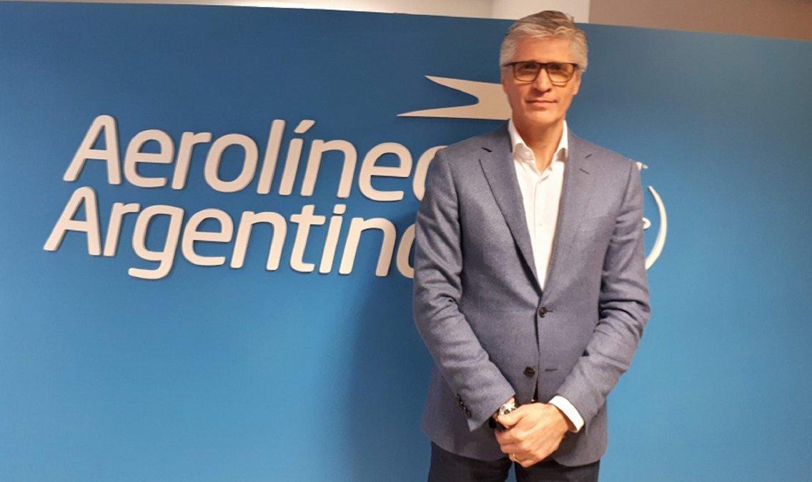 El Presidente de Aerolíneas Argentinas renunció para facilitar la transición