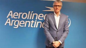 El CEO de Aerolíneas Argentinas renunció esta mañana