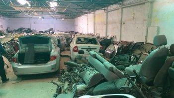 Secuestraron vehículos robados