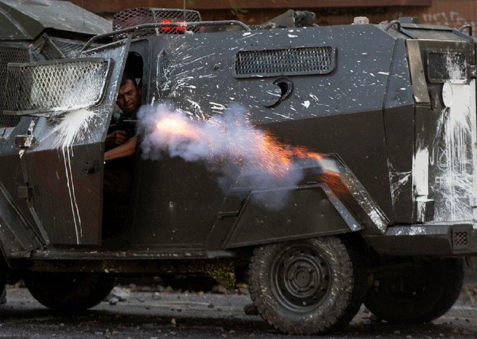 Chile, violencia extrema en las calles