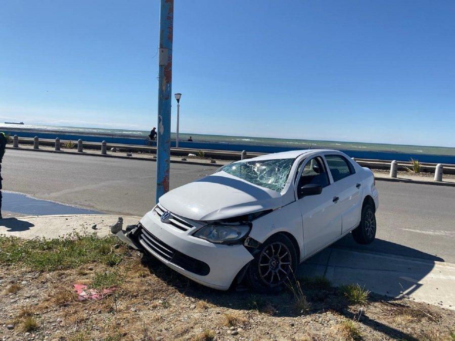 Fuerte accidente en la Avenida Tiburón