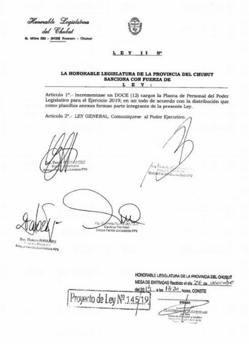 Diputados del FPV buscan crear 12 cargos nuevos en la Legislatura