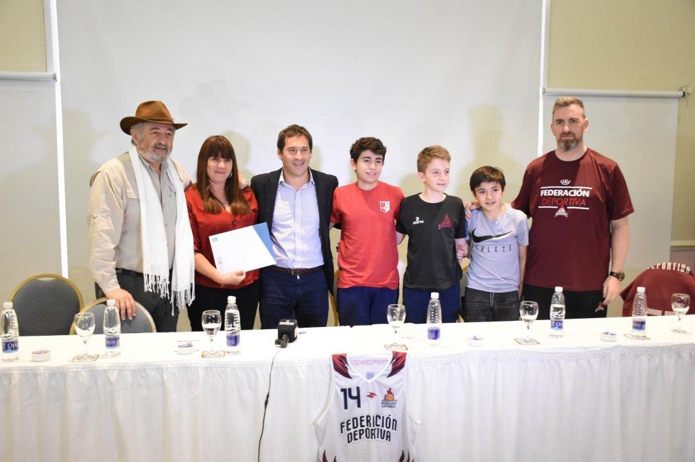 Federación Deportiva será sede de las semifinales del Torneo Argentino de Clubes U-13