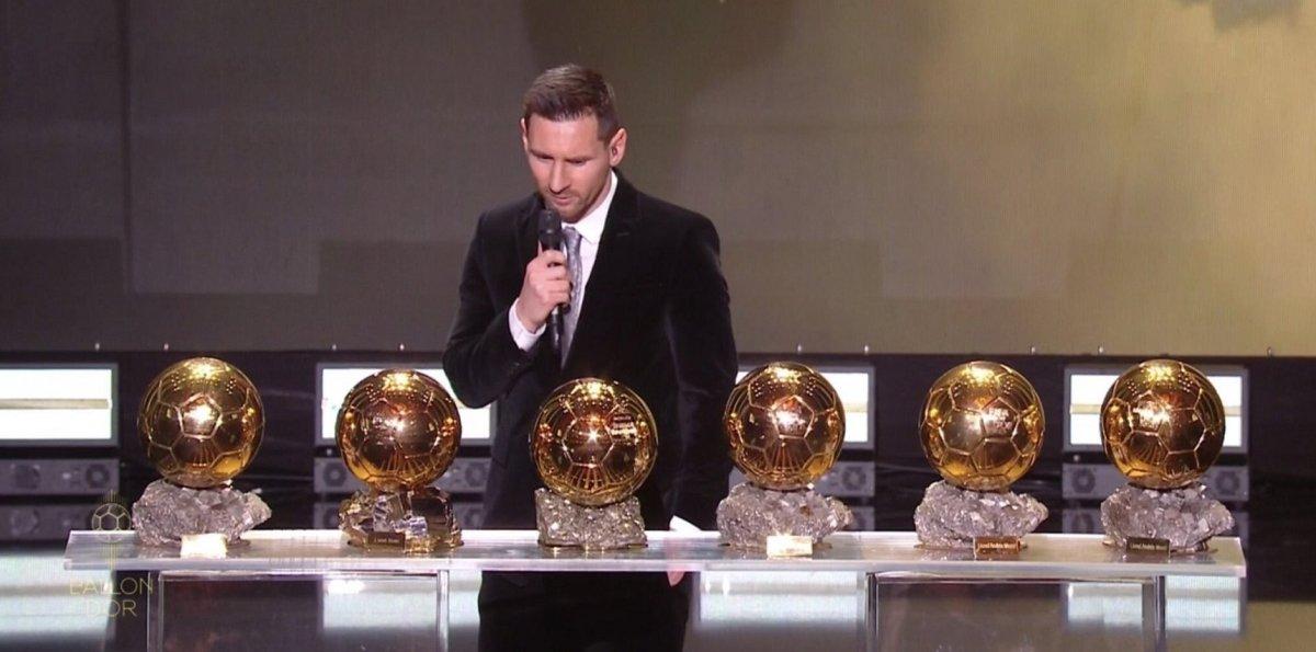 Messi conquistó su sexto Balón de Oro