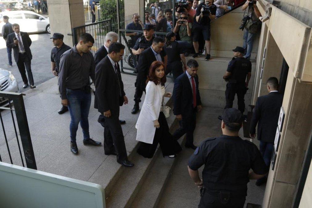 Las 10 frases que dejó CFK tras su declaración
