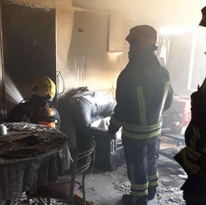 Falleció la mujer afectada por el incendio en Rawson