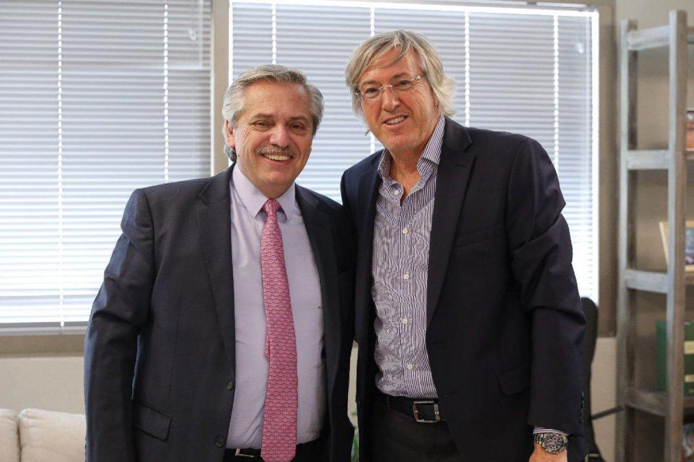 Fernández recibió al empresario Alejandro Roemmers