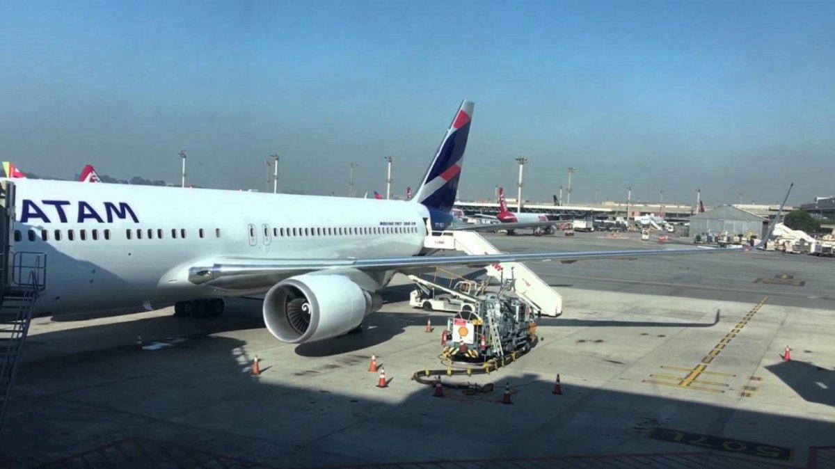 No hay vuelos de LATAM
