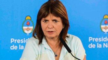 Patricia Bullrich dijo que Fernández