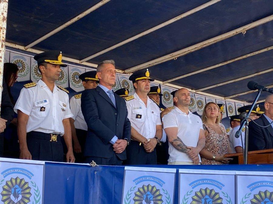 La Policía del Chubut celebró su aniversario N° 62