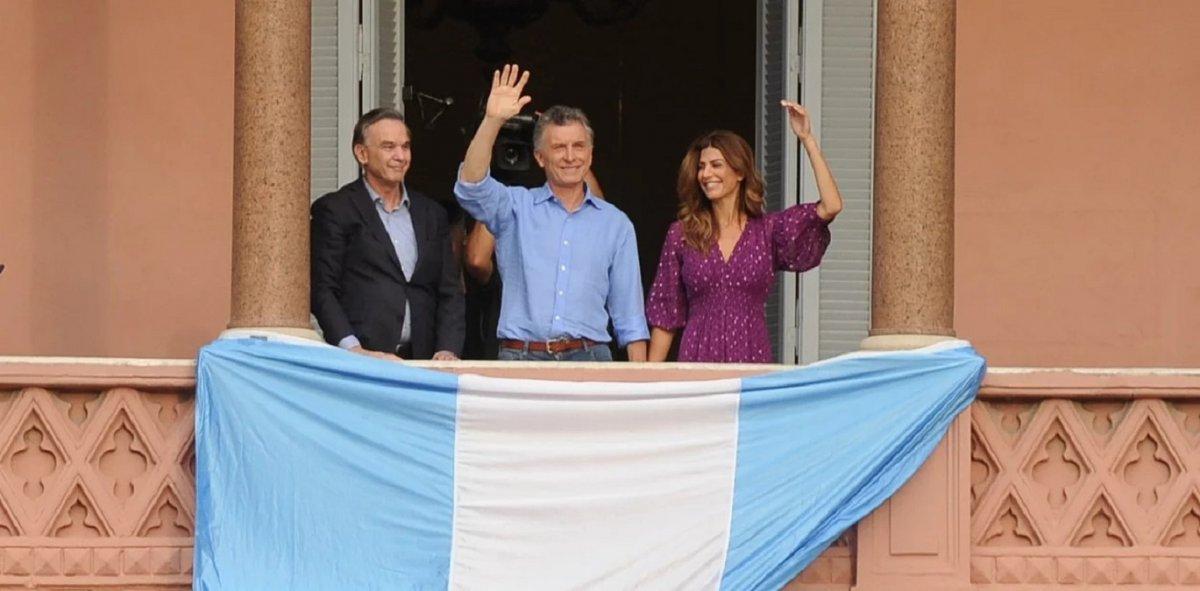 Macri se despidió del gobierno