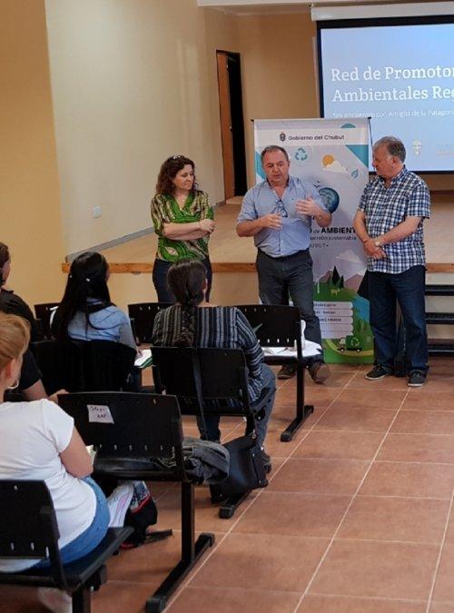 Tecka fue sede del Encuentro 2019 de Promotores Ambientales Regionales