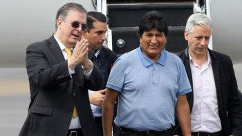 Evo Morales está en la Argentina